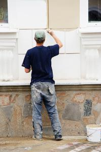 the Fremont Handyman Service does interior and exterior painting